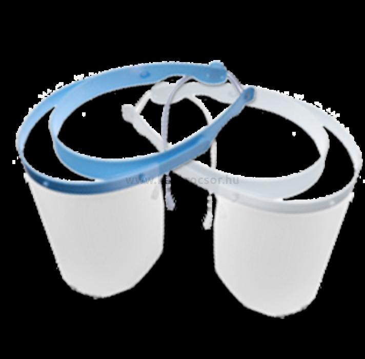 Image of 10 db előlap arcvédő pajzshoz, keret nélkül