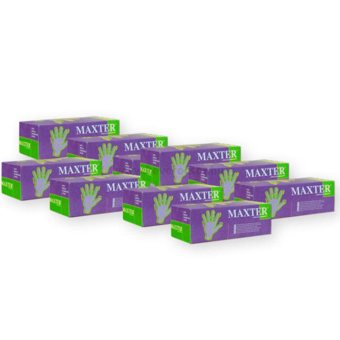 Image of 10 doboz Maxter púderes kesztyű (=10x100 db) L méretben
