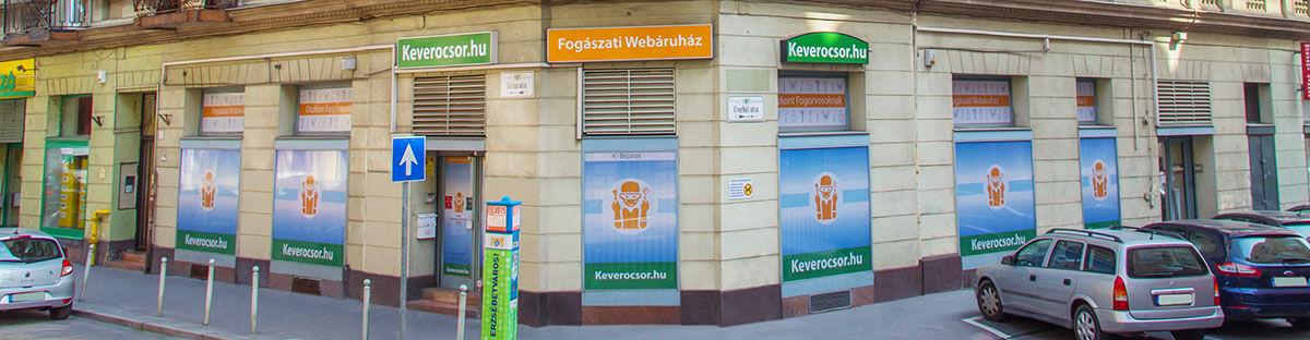 Keverőcsőr Fogászati Szaküzlet Budapesten: 1077 Budapest Jósika utca 14.