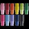 Pohár, 100db - többféle színben, méretben