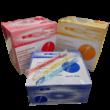 Egyszerhasználatos fogkefe fogkrémmel, 100db - többféle választható színben