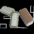 Endo-Steribox, műanyag, sötétkék, autoklávozható, 72 lyukkal gyökérkezelő tűknek vagy fg fúróknak, (10,9x4,9x5,5 cm