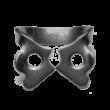 Kofferdam kapocs, Ivory, szárnyas, 209-es típus, alsó premolaris, + kis átmérőjű fogak, 1 db