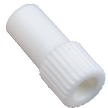 Adapter exhaustorra, kicsi, műanyag, fehér, 1db, 11mm átmérő