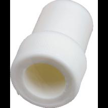 Adapter exhaustorra, nagy, műanyag, fehér, 1db, 16mm átmérő