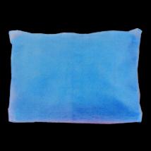 Fejtámlavédő 125db, 25cmx25cm, kék színű