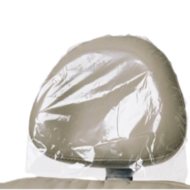 Fejtámlavédő, 250 db, műanyag, átlátszó, 28x25 cm