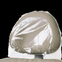 Fejtámlavédő, 250 db, műanyag, átlátszó, 35x25 cm