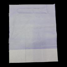 Fogászati Előke, zsebes -  3 rétegű, 40x50cm, kék színű, 100db-os