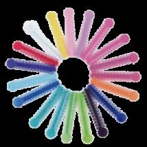 Fogszabályzóhoz gumigyűrű, vegyes színben, 1040 db