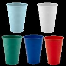 Pohár, 2 dl, 100db - többféle választható színben
