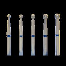 Gyémánt gömb, 1 db,  FG, kék, választható 12-20-as fejméret
