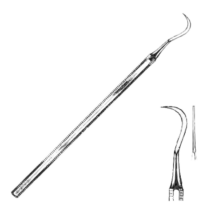 Kézi depurátor, Black, 1 db, fém