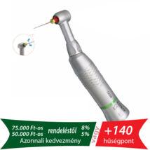 Endodonciás lassító könyök, 10:1, nem fényes, kézi tűk befogására, 45°-os oda-vissza forgással