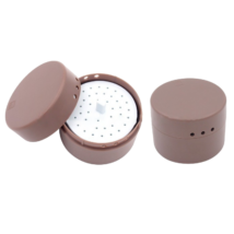 Endo-Steribox, műanyag, kerek kicsi, autoklávozható, 26 lyukkal gyökérkezelő tűknek vagy FG fúróknak