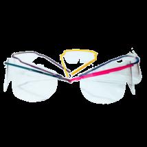 Védőszemüveg, egyszerhasználatos, sárga színben