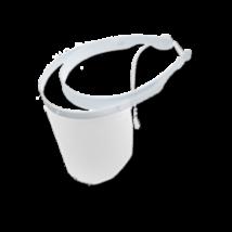 Cotisen arcvédő pajzs szett felhajtható plexivel, (1 keret + 10 előlap), fehér