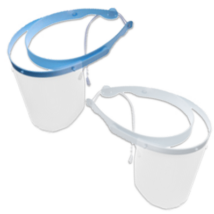 Set of Face Shield, blue, 1 frame and 10 shields