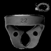 Kofferdam kapocs, Ivory, 1 db, 8.22-es tipus, alsó kisörlők