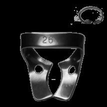 Kofferdam kapocs, Ivory, 8.26-os típus, felső molárisokhoz, 1 db