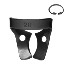 Kofferdam kapocs, Ivory, 1 db, 26-os tipus, felső nagyőrlőkhöz