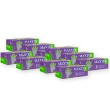 10 doboz Maxter púderes kesztyű (=10x100 db) öt méretben választható
