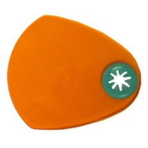Fényvédő lemezke Led polimerizációs lámpához (72x62mm), ovális, 8-12 mm-es szálhoz, 1 db