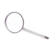 Mouth Mirror, plane, in 4 sizes,1pc
