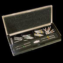 Fiber Post Kit, FITSPOST, (24 pcs post, 4 pcs drill, handle)