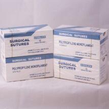 Polypropylene fonal, 4/0, 1 doboz (12 db), steril, DS 18, 45 cm