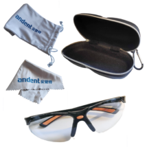 Medical Safety Glasses, transparent, 1 pc/box
