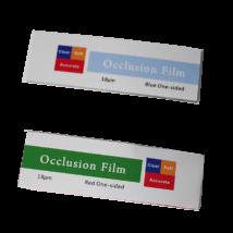 Artikulációs fólia, 18 mikronos, 60 db, 6,8 cm hosszú - többféle válaszható színben