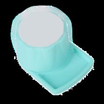 Talpas endo szivacs tartó, zöld műanyag, autoklávozható, 1 db