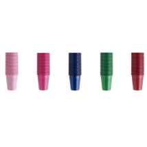 Cups, 2 dl, in several colors, 100pcs