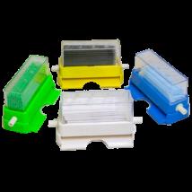 Applicator Dispenser, 1 pc, plastic, blue