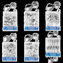 TOR - Roppantógyűrűs Fém Domborított Matrica MOLARISOKHOZ, 0,035mm 10 DB  - többféle választható típusban