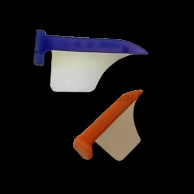 Matrica műanyag ékkel, 2 méret, 50 db (25-25), interguard