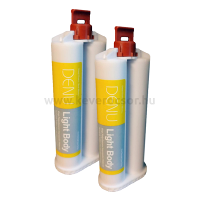 A-szilikon, 2x50 ml (+6 kcs) preciziós lenyomatanyag, Duosil