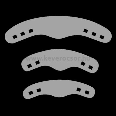 Félkörös matrica, 20 db, 0,04 mm vastag - többféle típusban