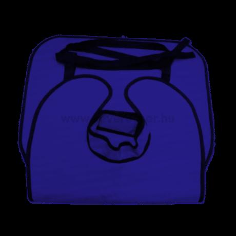 Ólomköpeny felnőtt méretben, kék, 60x100cm, 0,35 mm vastag, röntgenezéshez, 1 db