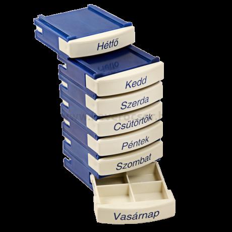 MediBox napi és heti gyógyszeradagoló doboz