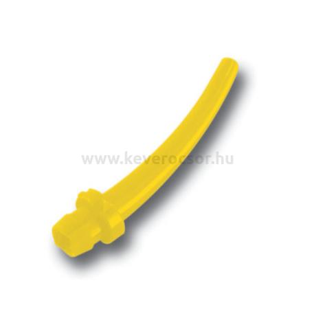 Intraorális csúcs, sárga, rövid, 100 db