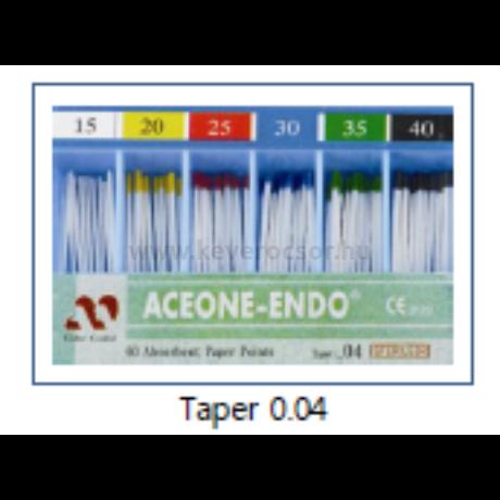Papír poén (Taper 0.04), 60 db, színjelzett - többféle választható méretben