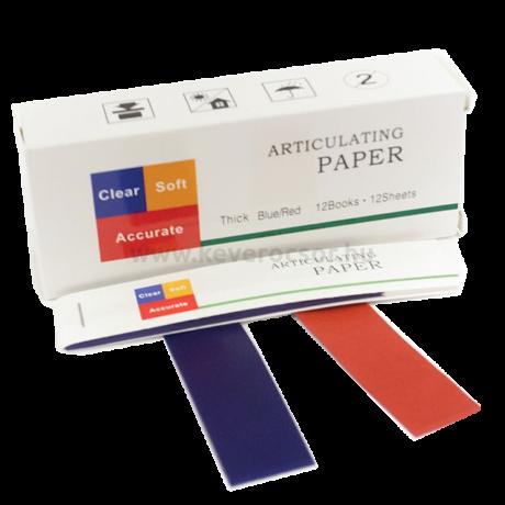 Artikulációs Papír, piros-kék, 100 mikron, 2 oldal, 2 szín, 144 lap