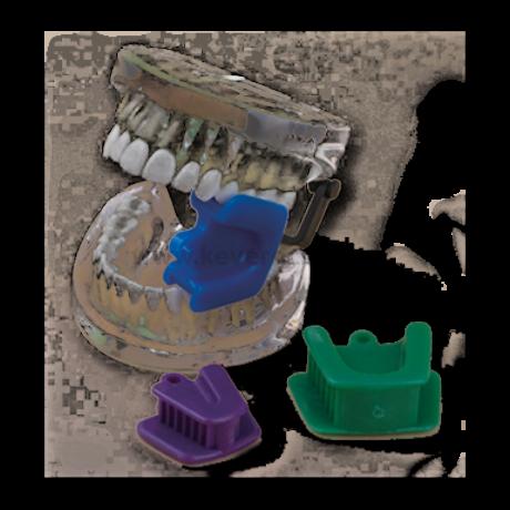 Gumi ráharapásgátló (szájtámasz), többféle méretben, 1 db