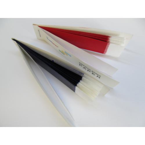 Artikulációs Papír, piros, 100 mikron, 200 lap/10 füzet