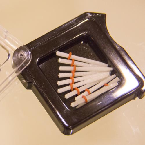 Üvegszálas csap, utántöltő, 1,6 mm-es méretben (piros), 10 db, FITSPOST