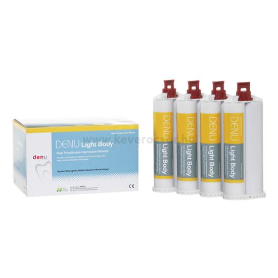 A-szilikon, Próbacsomag: 50 ml (+3 kcs) preciziós lenyomatanyag, Duosil