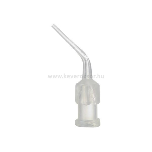 Kanül endodonciás, átlátszó, rövidebb, 10 db