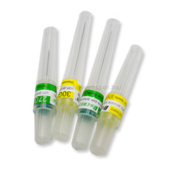 3 doboz (3x100db) Cilinderampullás injekciós tű, steril, 30Gx12mm - Új méret!!!